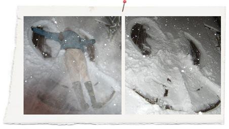 angeles de nieve copia