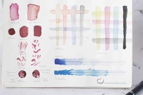 amvelandia_gouaches vs watercolor_BLOG2